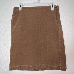 Old Navy Corduroy Zip Up Pencil Skirt